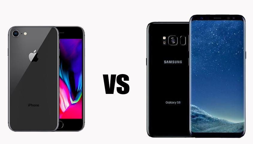 Iphone 8 vs Samsung Galaxy S8: chi è il migliore?